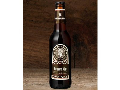 Jacobsen Brown Ale 33 cl 24 stk